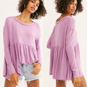 Free People | NWOT Forever Your Girl Babydoll Top